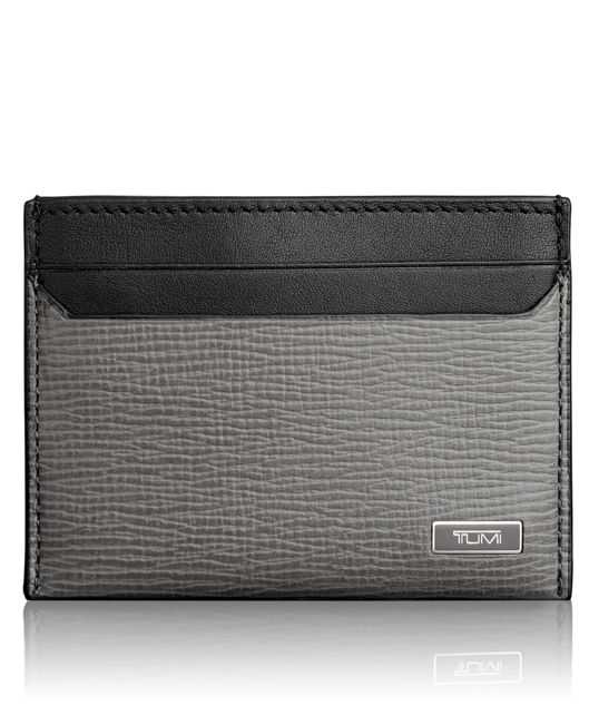 TUMI ID Lock™ Slim Card Case in Grey