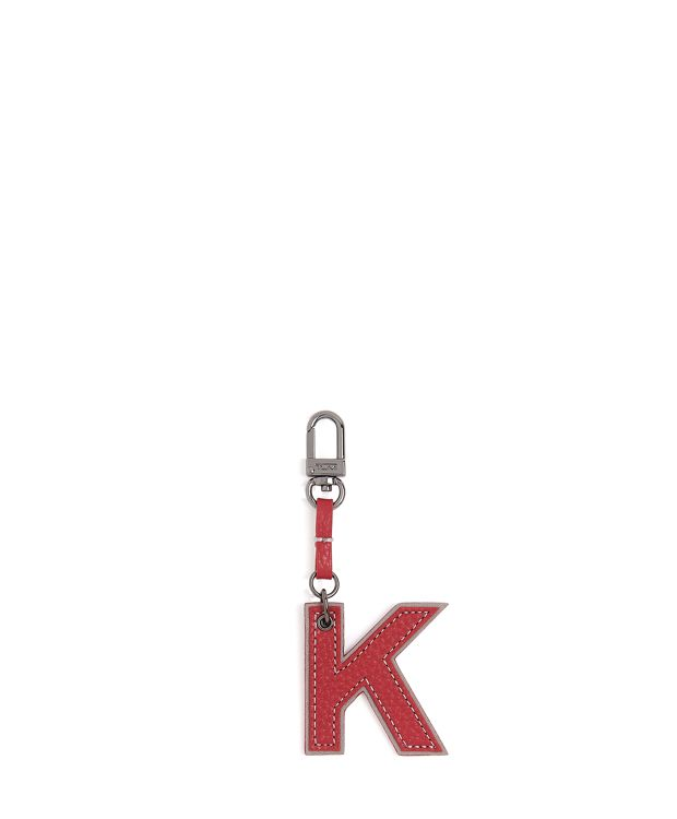 Letter Charm in K/Orchid