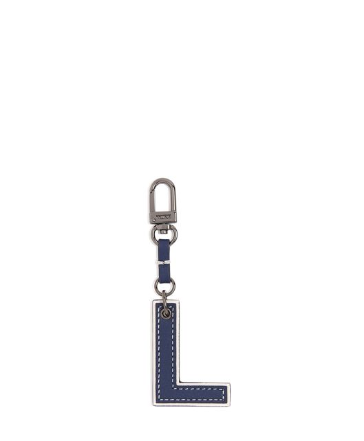 Letter Charm in L/Navy