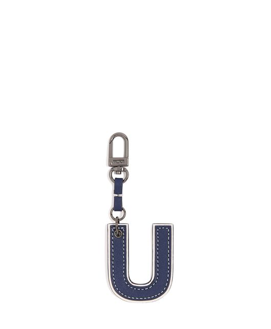 Letter Charm in U/Navy