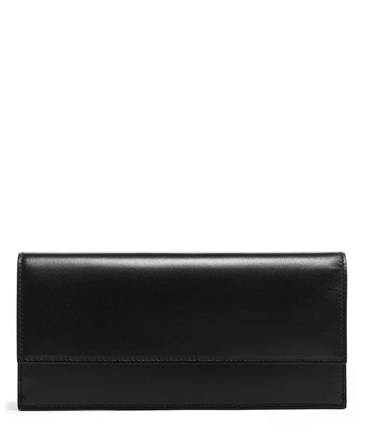 SLIM ENVELOPE WALLET Black - large | Tumi Thailand