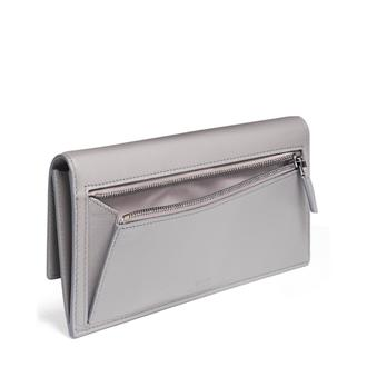SLIM ENVELOPE WALLET Grey - medium | Tumi Thailand