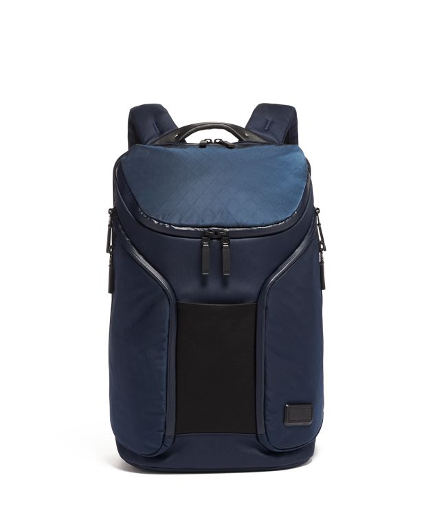 Rockwell Backpack in Navy Tech