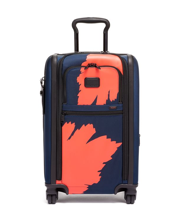 International Dual Access 4 Wheeled Carry-On in Graphic Congo Print