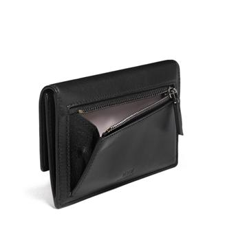 SM SLIM ENVELOPE WALLET Black - medium | Tumi Thailand