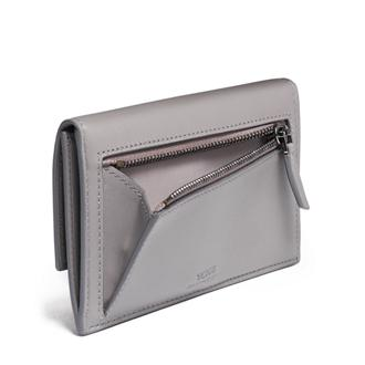 SM SLIM ENVELOPE WALLET Grey - medium | Tumi Thailand
