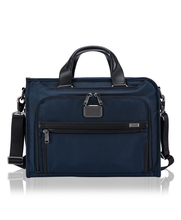 Slim Deluxe Portfolio in Navy