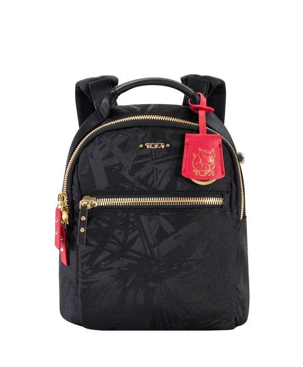 Witney Backpack in Black/Red