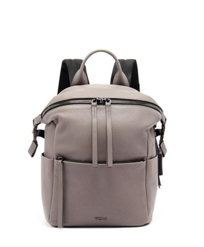 f32b81967 Pat Backpack - Mezzanine - Tumi United States - Grey Perforated Lthr
