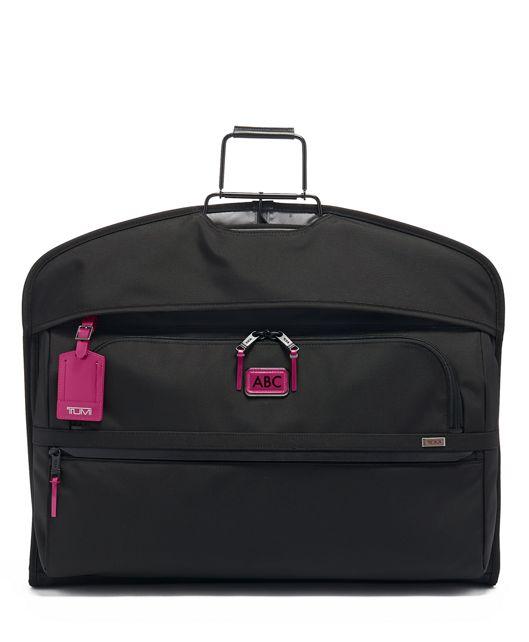 Garment Cover in Metallic Pink
