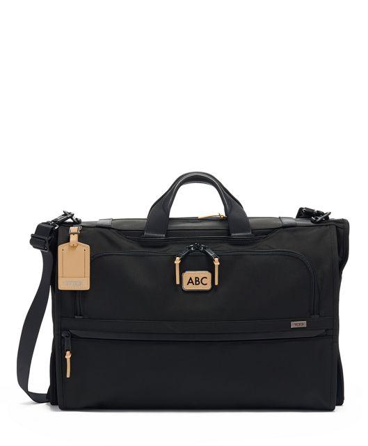 Garment Bag Tri-Fold Carry-On in Grey Highlands Print