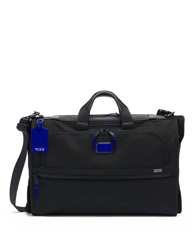 Garment Bag Tri-Fold Carry-On in Atlantic