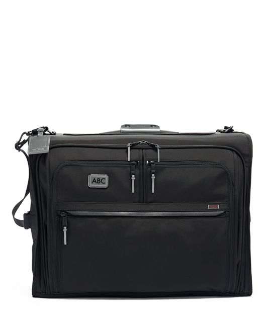 Classic Garment Bag in Metallic Silver