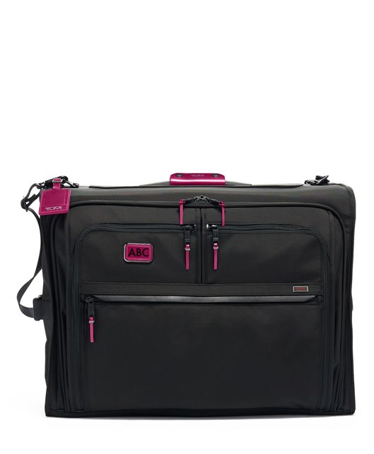 Classic Garment Bag in Metallic Pink