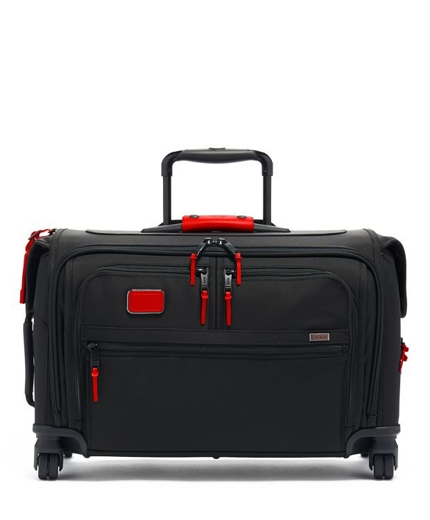 Garment 4 Wheeled Carry-On in Cherry