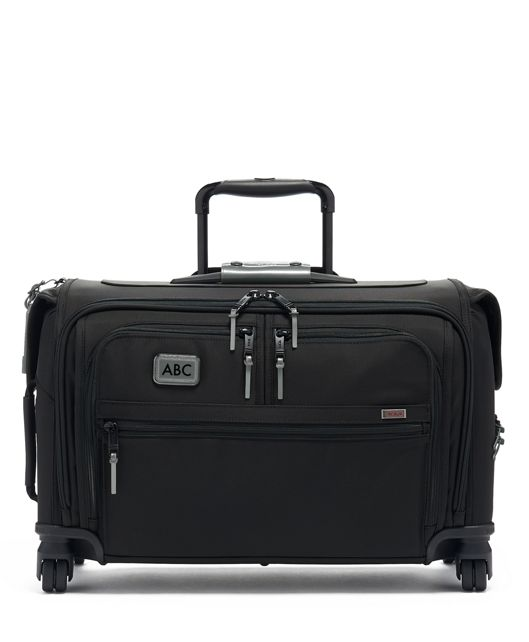 Garment 4 Wheeled Carry-On in Metallic Silver