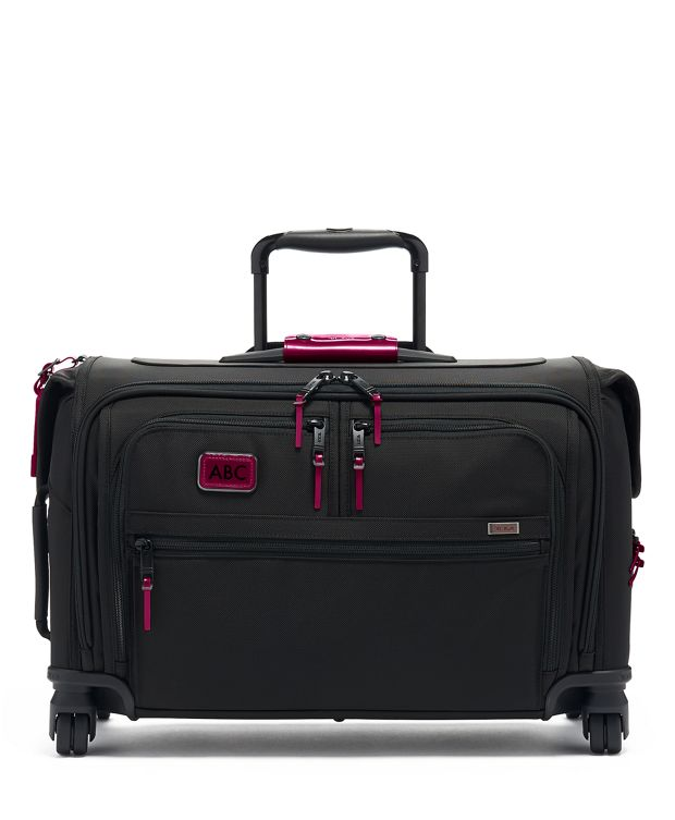 Garment 4 Wheeled Carry-On in Metallic Pink