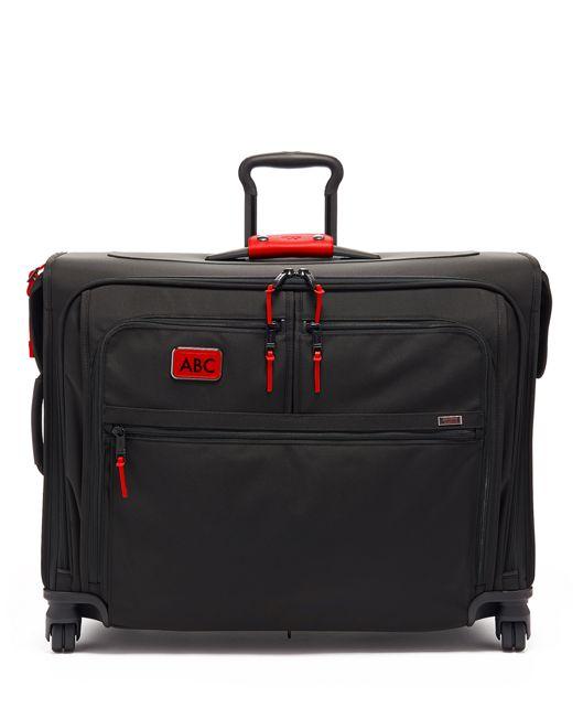 Medium Trip 4 Wheeled Garment Bag in Cherry
