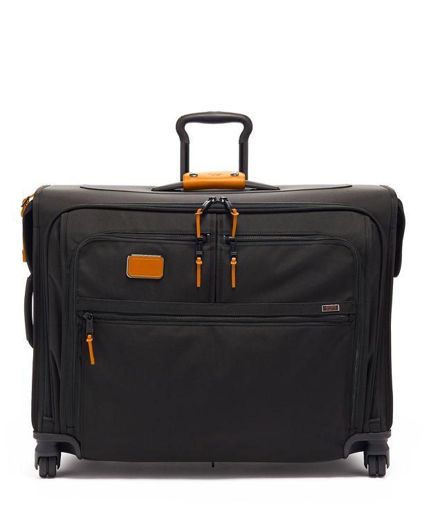 Medium Trip 4 Wheeled Garment Bag in Tan