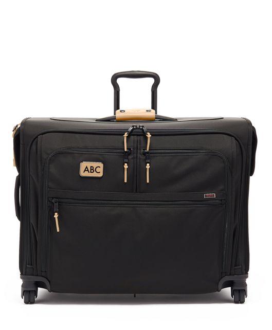 Medium Trip 4 Wheeled Garment Bag in Grey Highlands Print