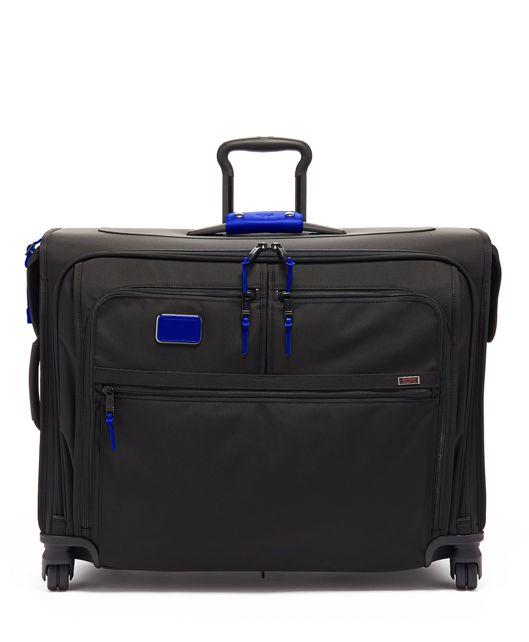 Medium Trip 4 Wheeled Garment Bag in Atlantic