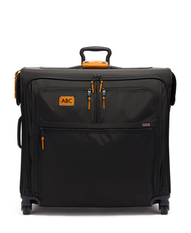 Extended Trip 4 Wheeled Garment Bag in Tan