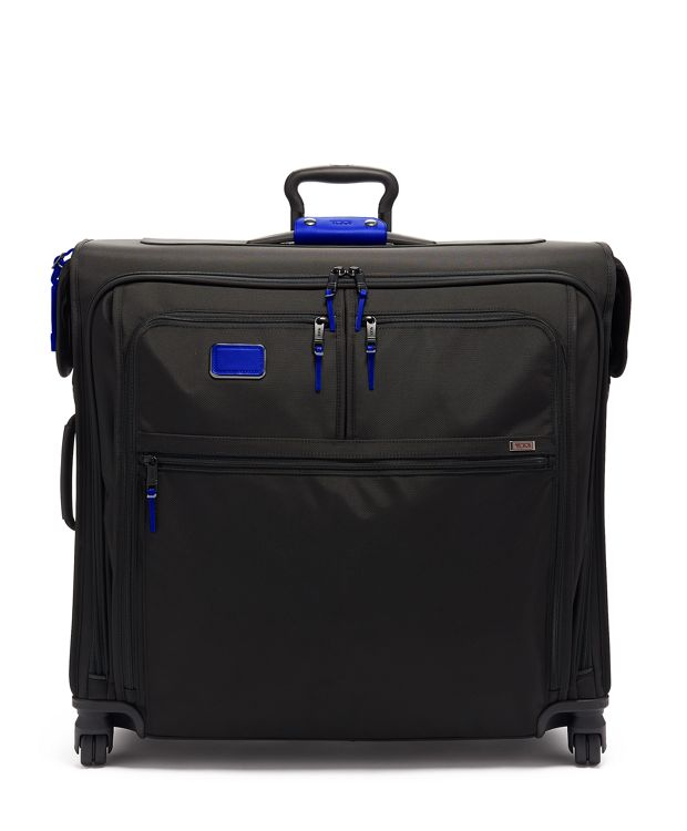 Extended Trip 4 Wheeled Garment Bag in Atlantic