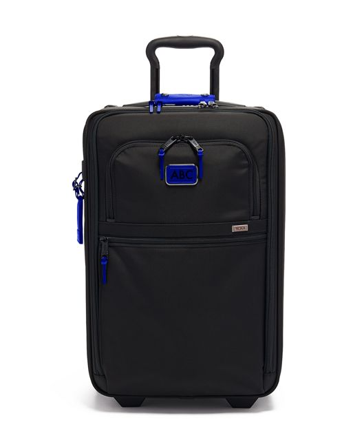 International Expandable 2 Wheeled Carry-On in Atlantic