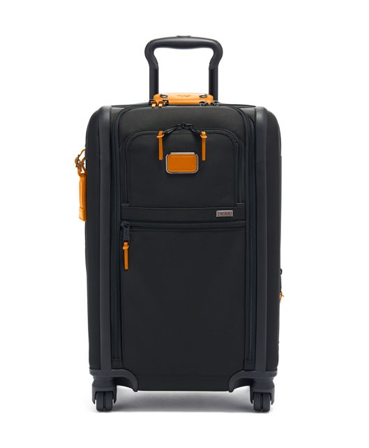 International Expandable 4 Wheeled Carry-On in Tan