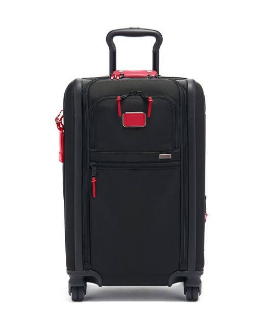 International Expandable 4 Wheeled Carry-On in Collage Floral