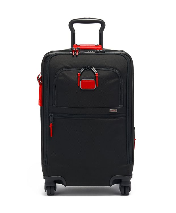 International Office 4 Wheeled Carry-On in Cherry