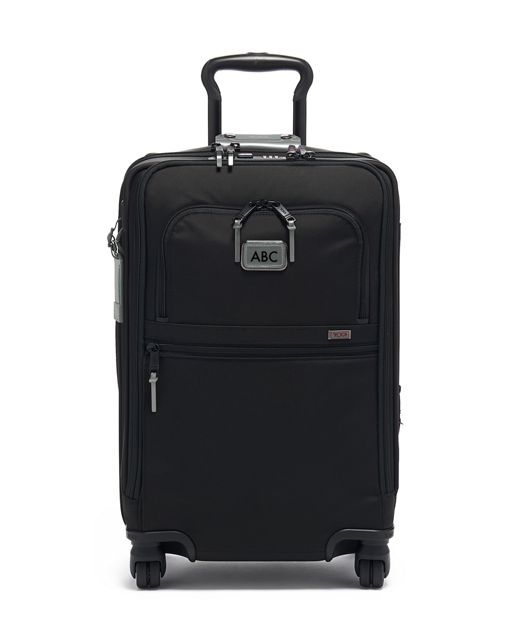 International Office 4 Wheeled Carry-On in Metallic Silver
