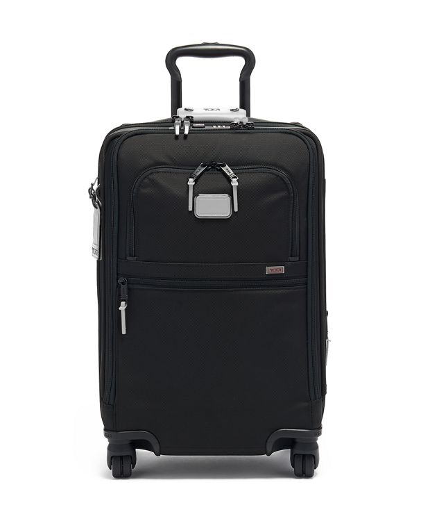 International Office 4 Wheeled Carry-On in Reflective Silver