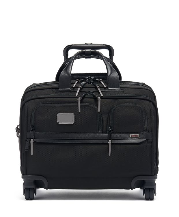 Deluxe 4 Wheeled Laptop Case Brief in Camo