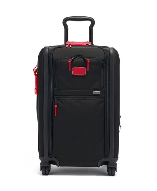 International Dual Access 4 Wheeled Carry-On in Collage Floral