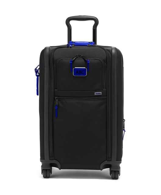 International Dual Access 4 Wheeled Carry-On in Atlantic