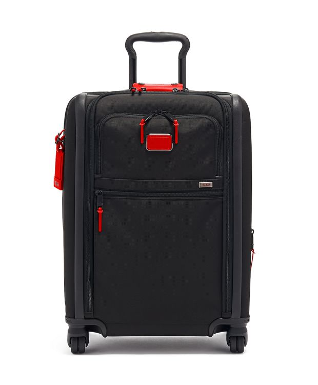 Continental Dual Access 4 Wheeled Carry-On in Cherry