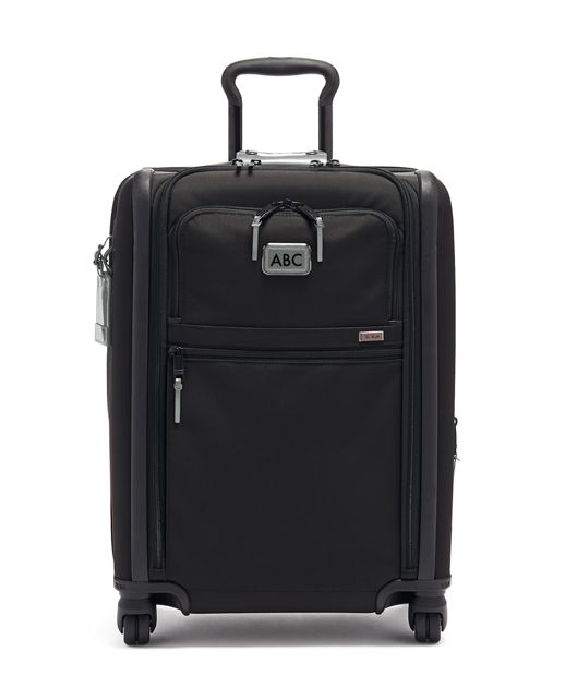 Continental Dual Access 4 Wheeled Carry-On in Metallic Silver