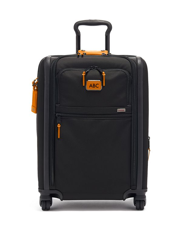 Continental Dual Access 4 Wheeled Carry-On in Tan