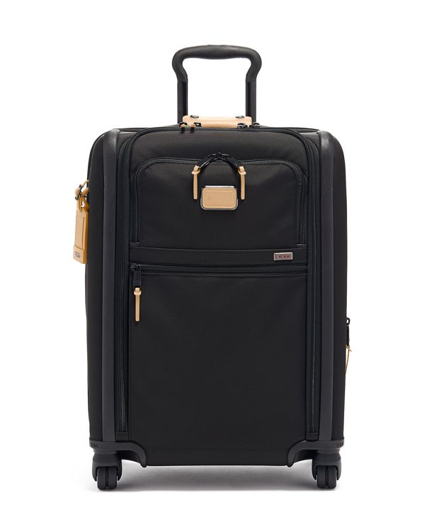 Continental Dual Access 4 Wheeled Carry-On in Grey Highlands Print