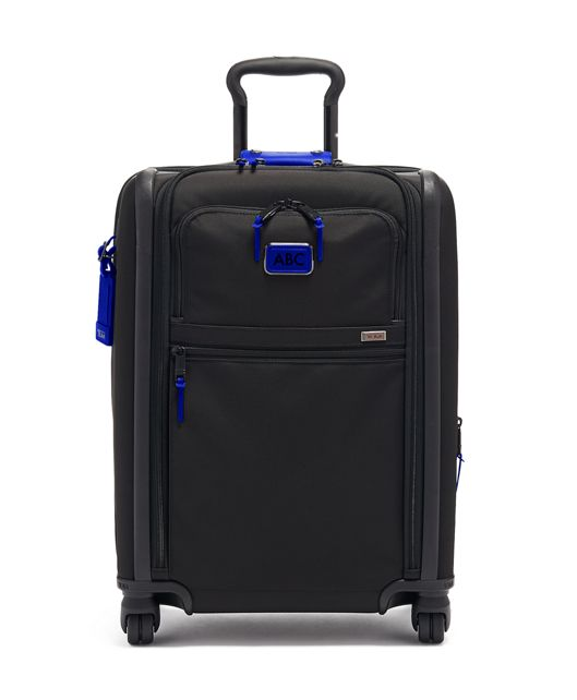 Continental Dual Access 4 Wheeled Carry-On in Atlantic