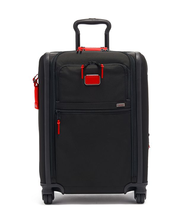 Continental Expandable 4 Wheeled Carry-On in Cherry