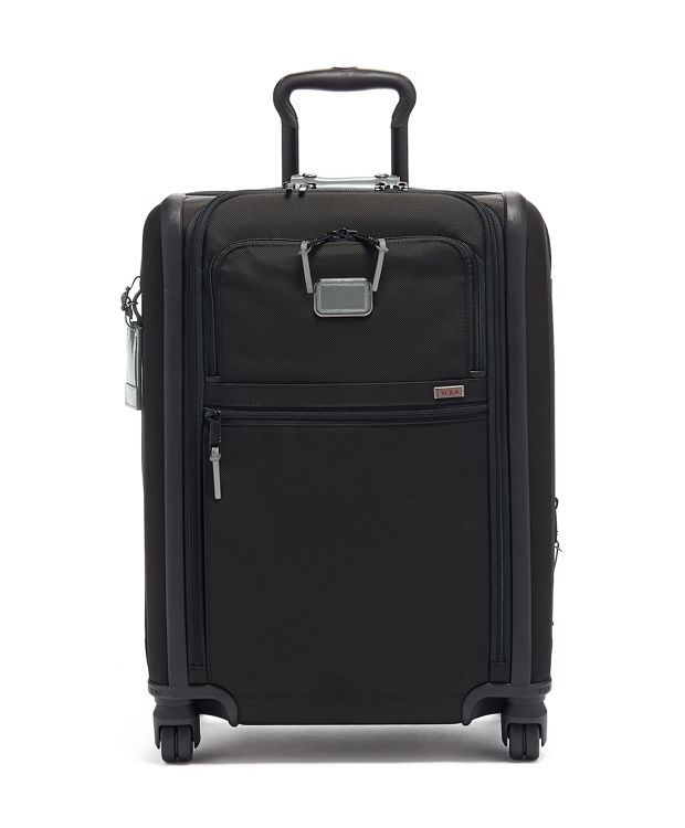 Continental Expandable 4 Wheeled Carry-On in Metallic Silver