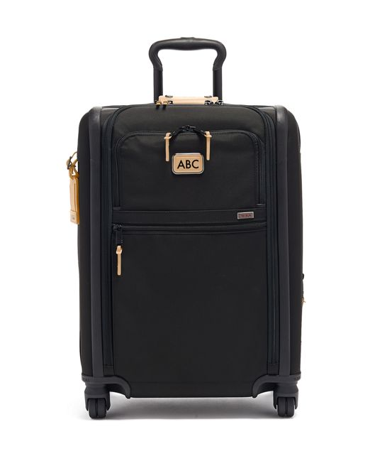 Continental Expandable 4 Wheeled Carry-On in Grey Highlands Print