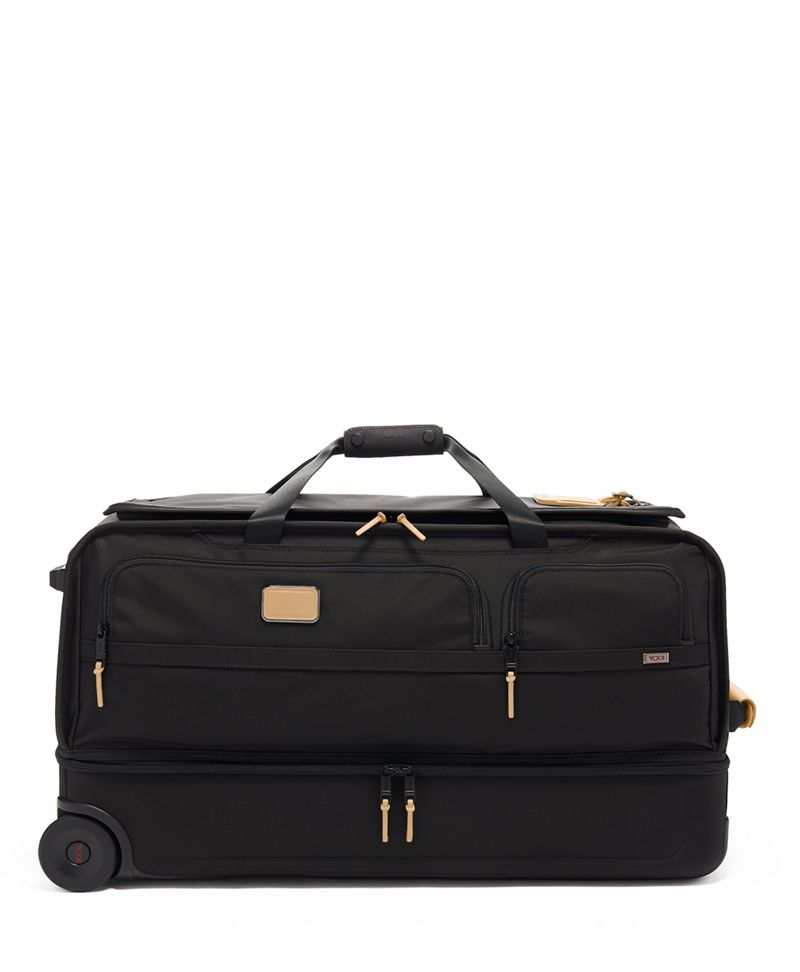 Large Split 2 Wheeled Duffel