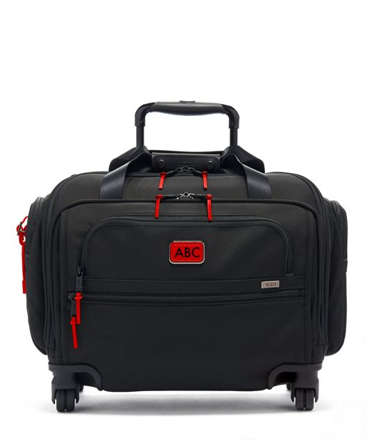 Compact 4 Wheeled Duffel in Cherry