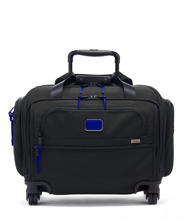 Compact 4 Wheeled Duffel in Atlantic