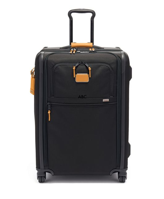 Short Trip Expandable 4 Wheeled Packing Case in Tan