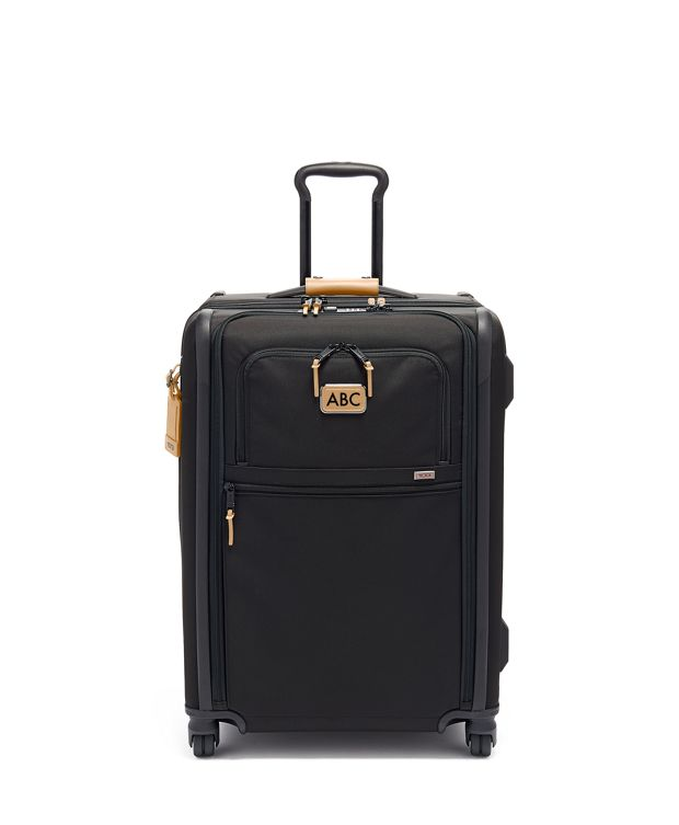 Short Trip Expandable 4 Wheeled Packing Case in Grey Highlands Print