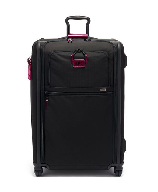 Medium Trip Expandable 4 Wheeled Packing Case in Metallic Pink